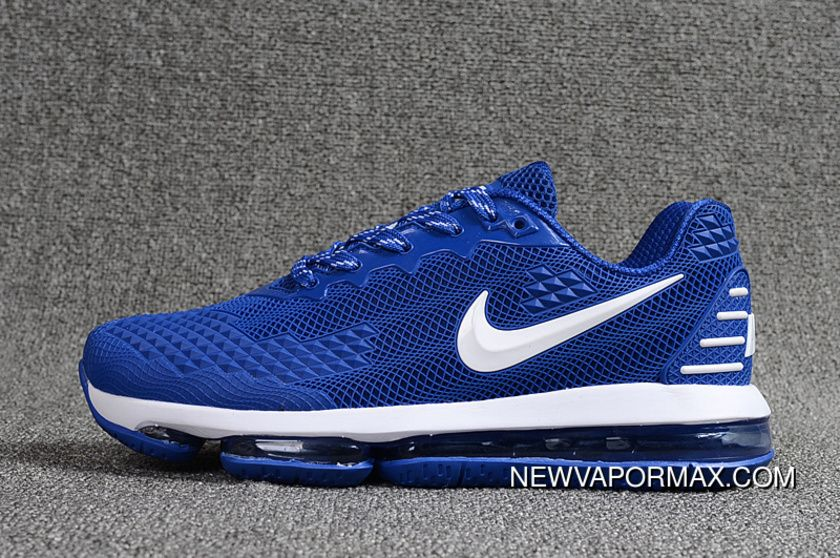399902ff1239a7 2019 Nanotechnology PLASTIC Nike Air Max Flair Zoom Women Shoes And Men Shoes  Navy Blue in 2019