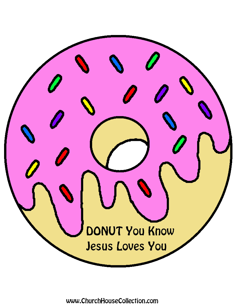 Church House Collection Blog: DONUT You Know Jesus Loves You Cutout ...