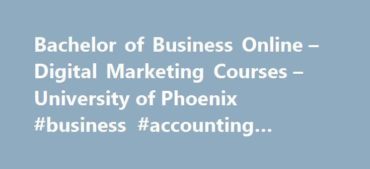 Bachelor of Business Online – Digital Marketing Courses – University ...