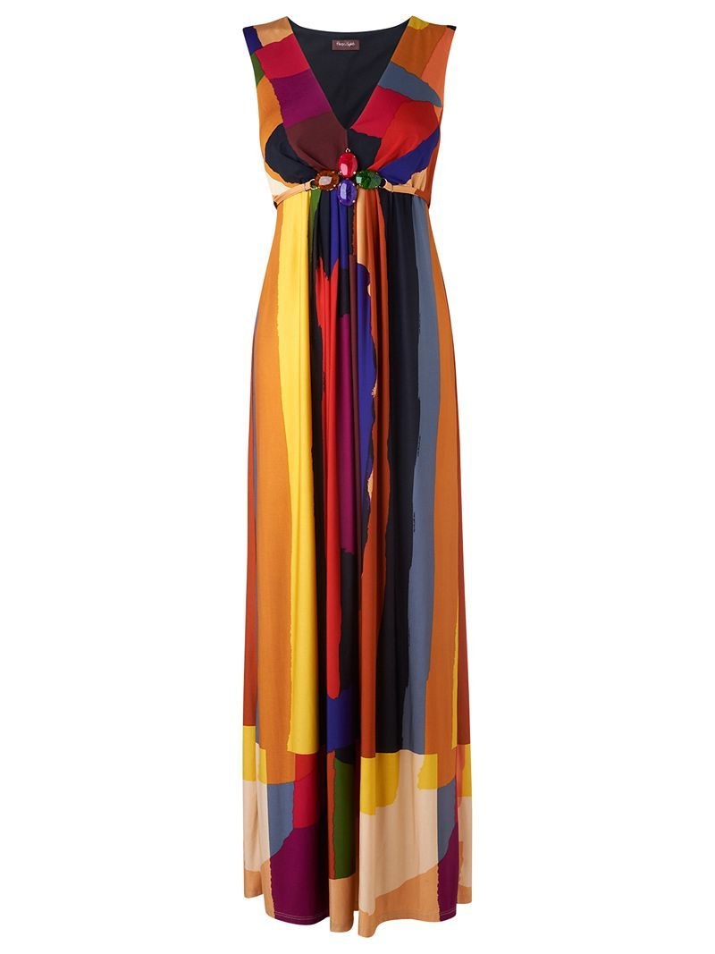 multi-coloured maxi - perfect for summer!    #phaseeight