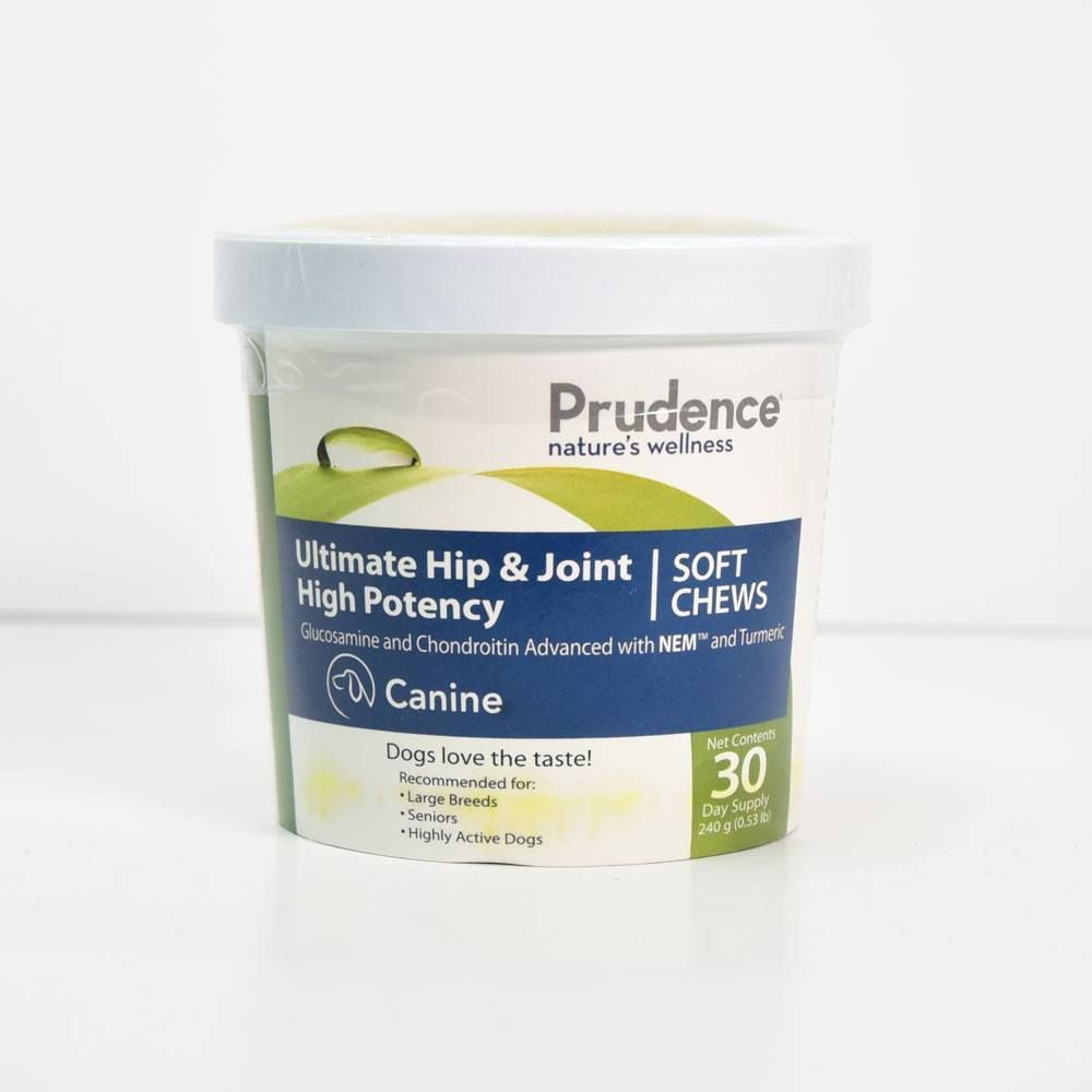 Prudence Ultimate Hip and Joint: High Potency - Soft Chews - 30 Days