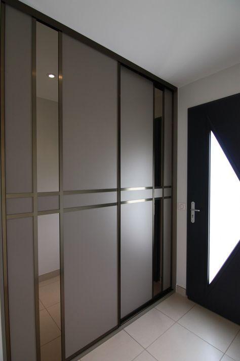 Porte de placard Emotion - collection aluminium SOGAL TANGUY