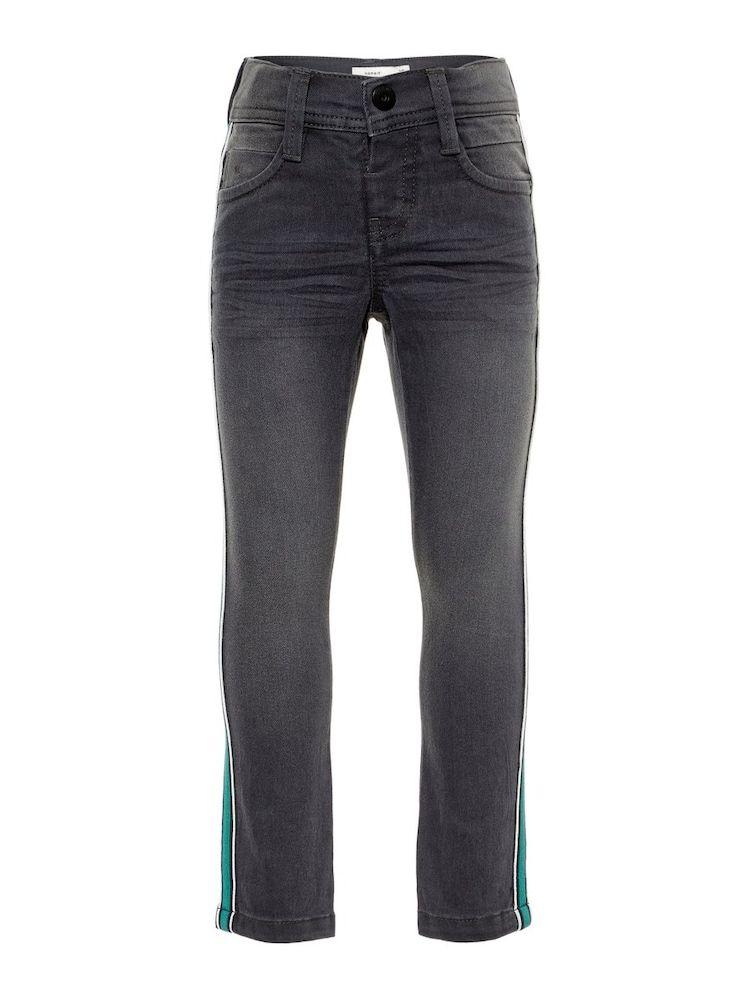 Name It Jeans X Slim Power Stretch Jungen Grau Grun Grosse 110 Stretch Jeans Kinder Jeans Jeans