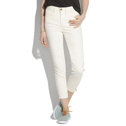 I LOVE white denim. xo  All that I want… is this. (And to win a trip for two to Paris from @Madewell. #giftwell #sweeps)