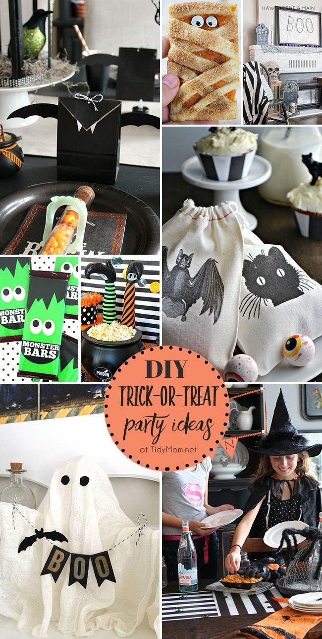 DIY Halloween Party Ideas | Home-made Halloween, Halloween parties ...