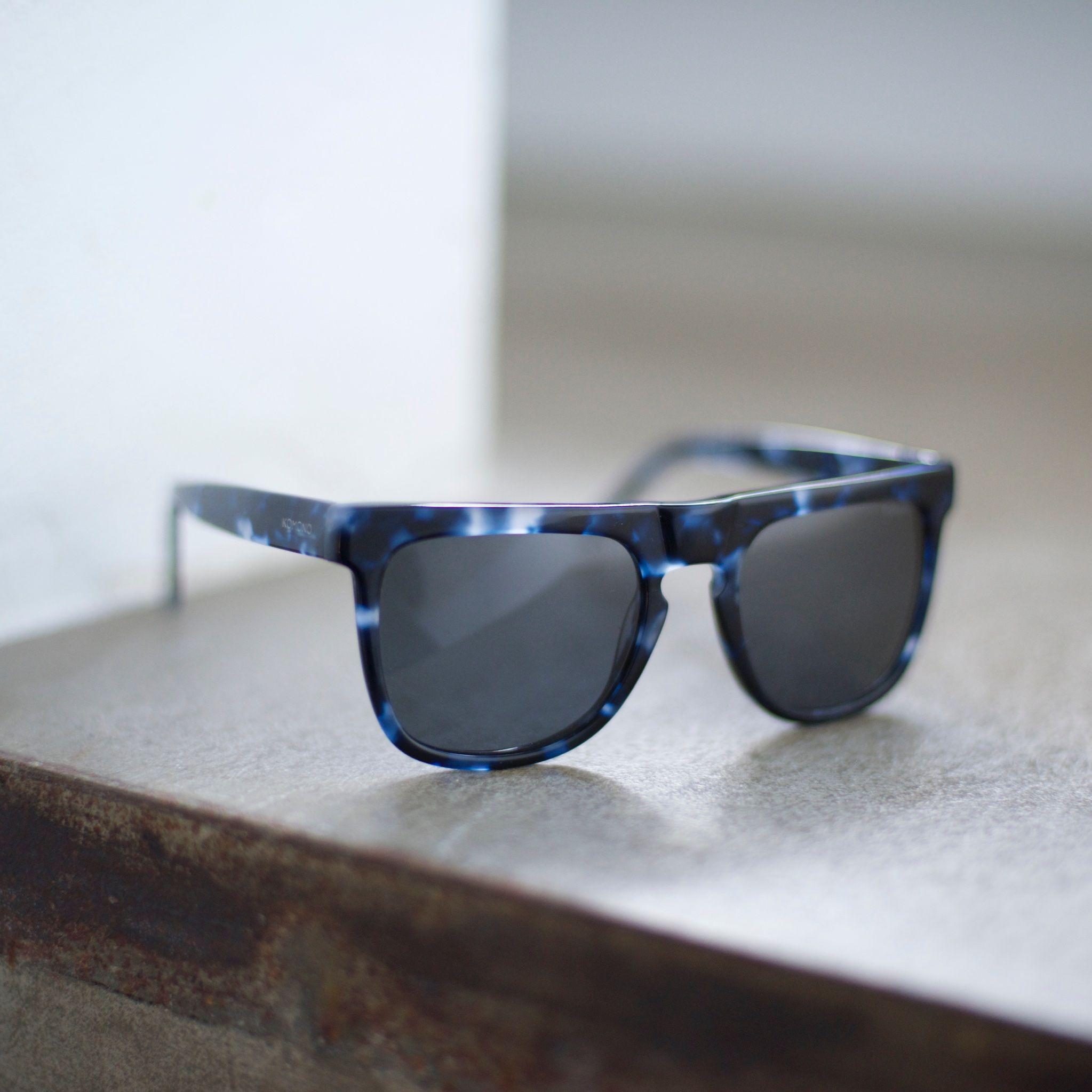 f636e7694aee Indigo blue sunglasses from Komono