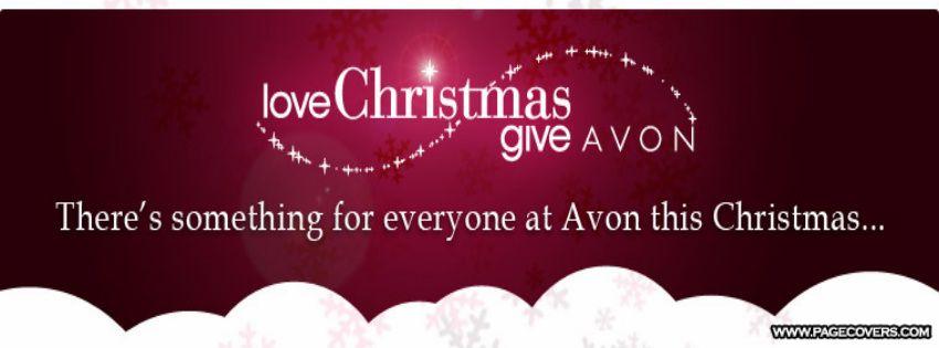Christmas Facebook Cover | Avon | Pinterest | Avon