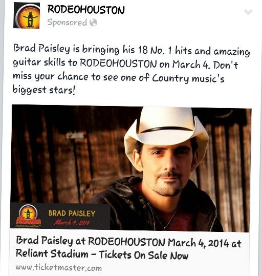 I saw him this year (2014)at the Rodeo on my birthday:)