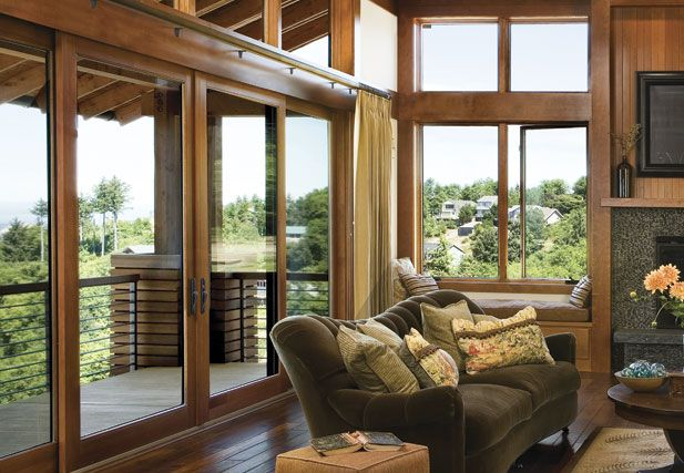 Astounding Sliding Doors Window Seat And More Light For Se Corner Machost Co Dining Chair Design Ideas Machostcouk