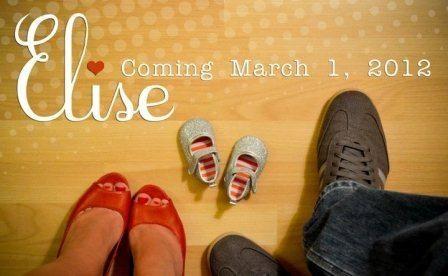 pregnancy reveal.. so cute!