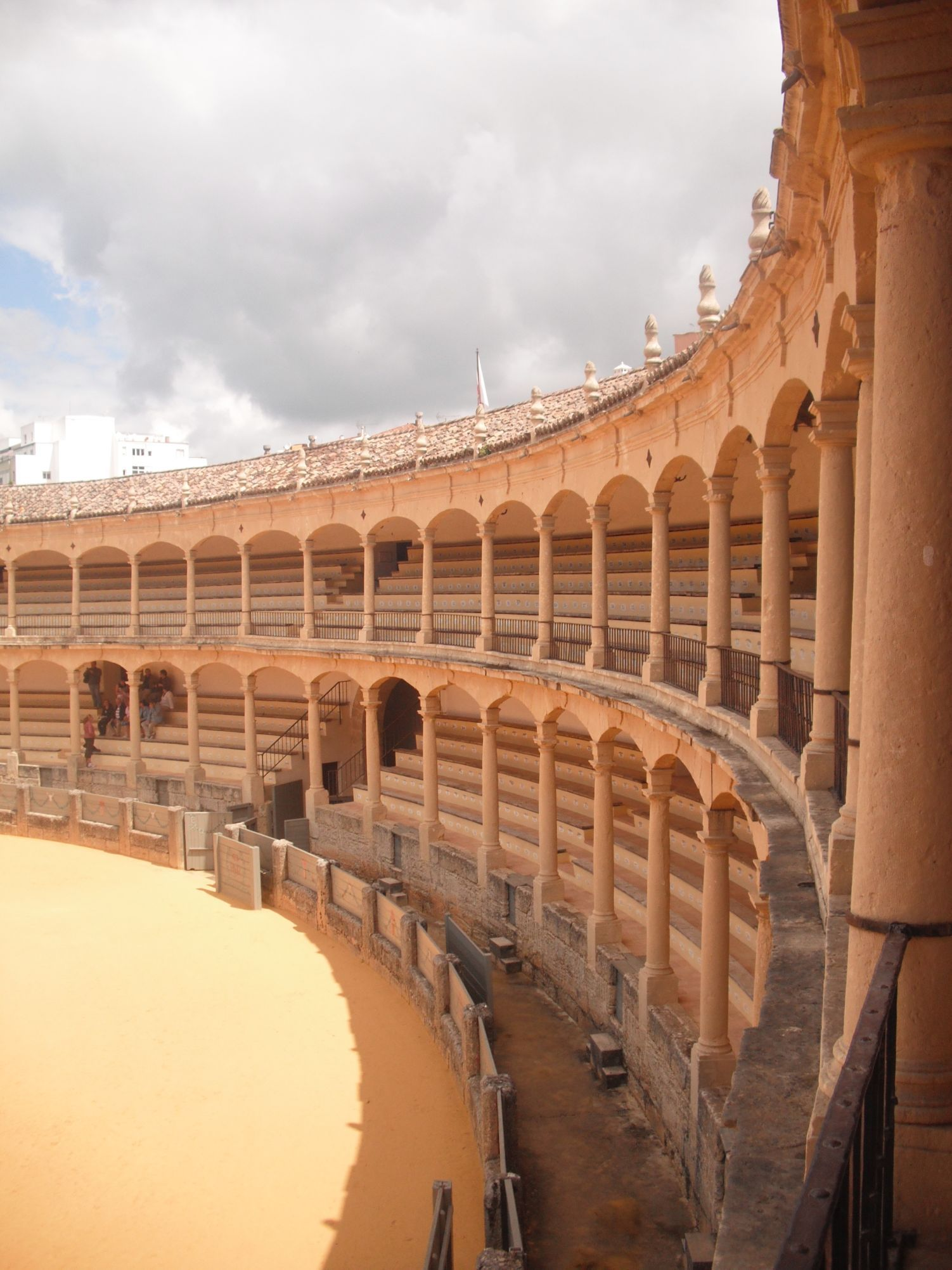 Ronda, bullfighting arena. Birthplace of bullfighting