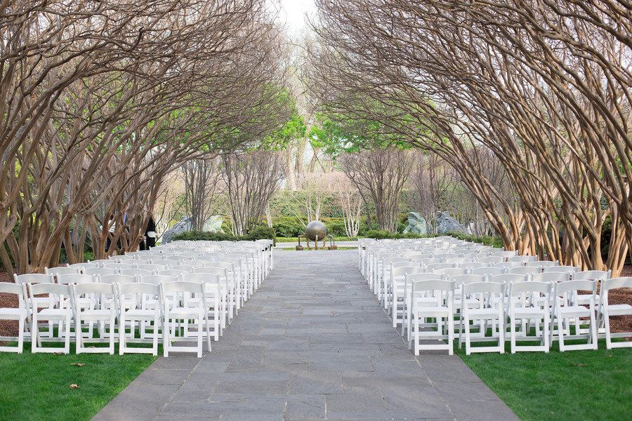 Dallas arboretum botanical gardens wedding from michele for Honeymoon places in texas