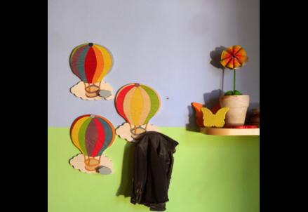 Appendiabiti bambini ~ Appendiabiti in legno per bambini cameretta bambino bebè di il