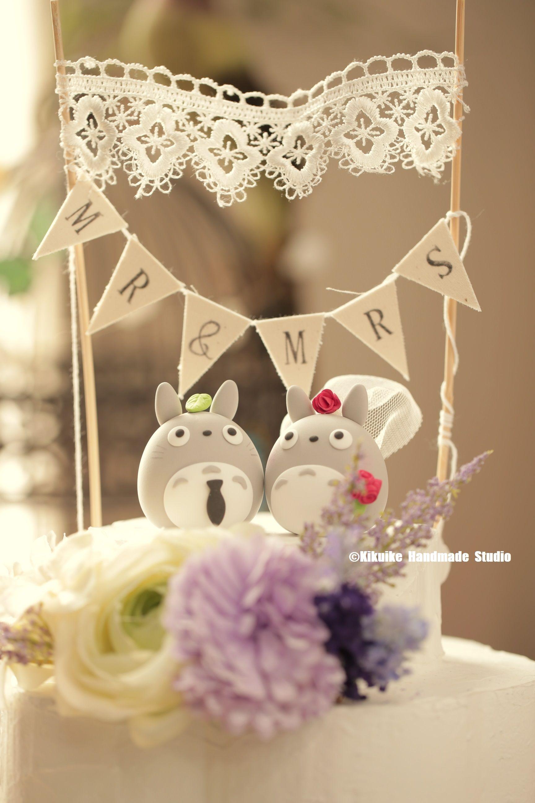 Wedding cake topper cake banner hochzeit and weddingideas