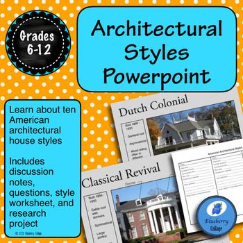 American Architectural Styles Powerpoint Architecture Fashion Learning Architecture