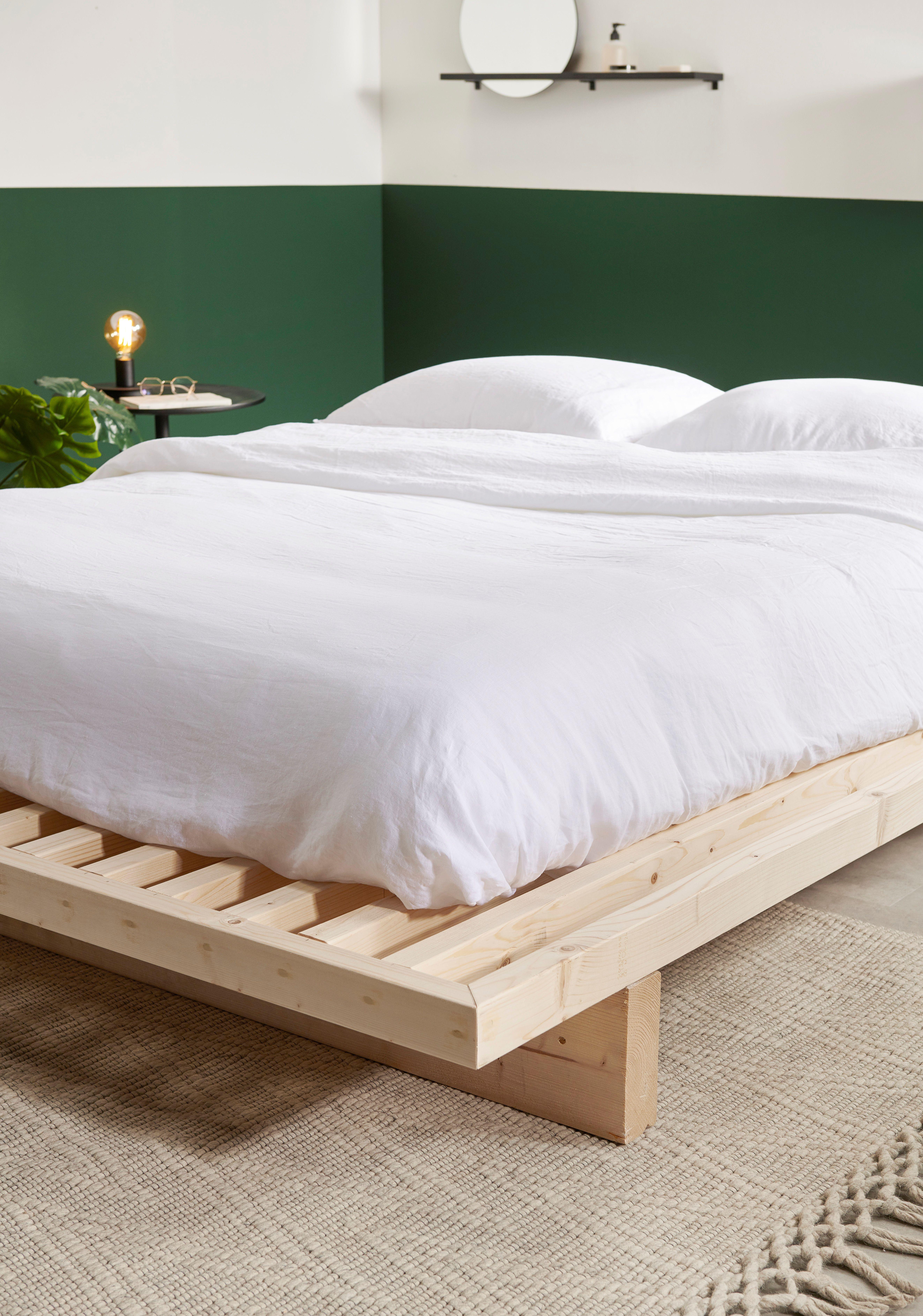 KARWEI in 2020 Minimalist bed, Zen bed, Bed frame design