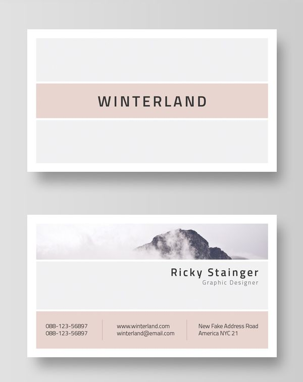 Minimal and clean business card template templates layouts minimal and clean business card template colourmoves