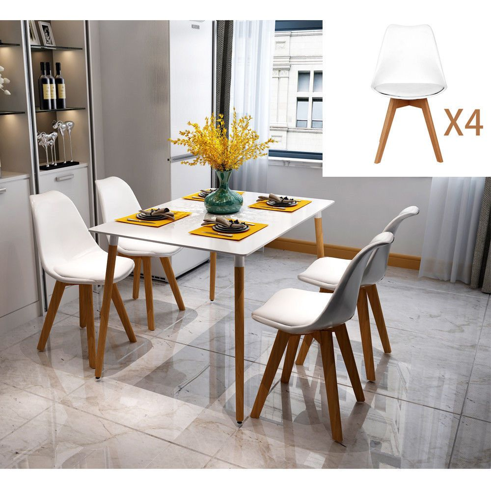 Small Kitchen Table and Chairs Dinette Dining Room Piece Wood