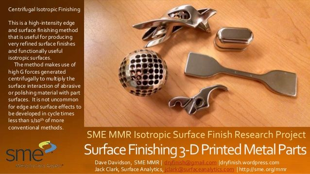 Sedie Sme ~ Surface finishing 3 d printed metal parts profilomic and areal