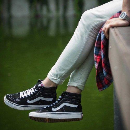 Chaussures Sk8-Hi | Chaussure skate, Chaussure, Vans chaussures