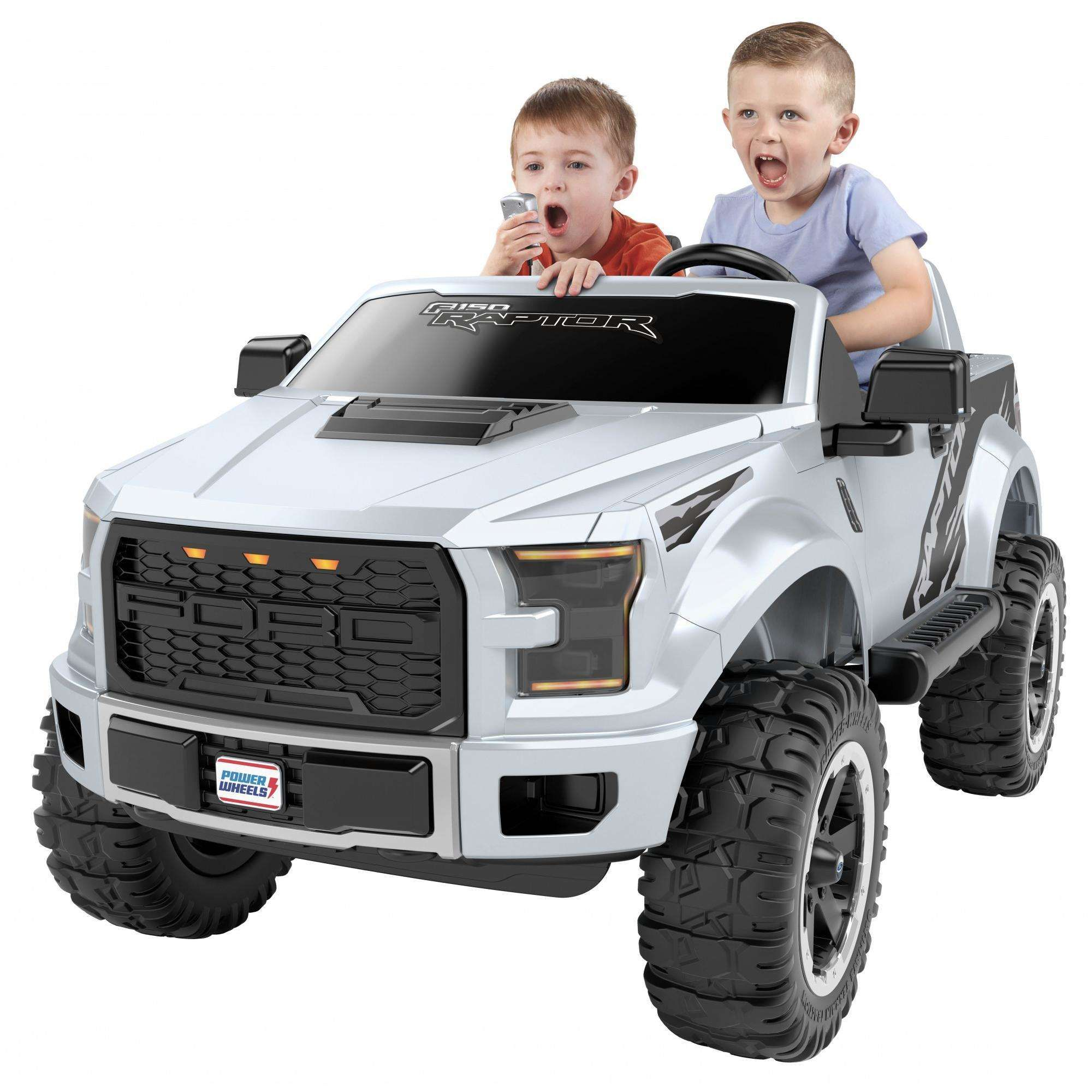 Power Wheels Ford F 150 Raptor Extreme 12 V Ride On Truck Walmart Com Power Wheels Ford Trucks Ford F150