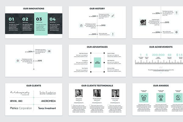Project Proposal Powerpoint Template Pinterest Project Proposal