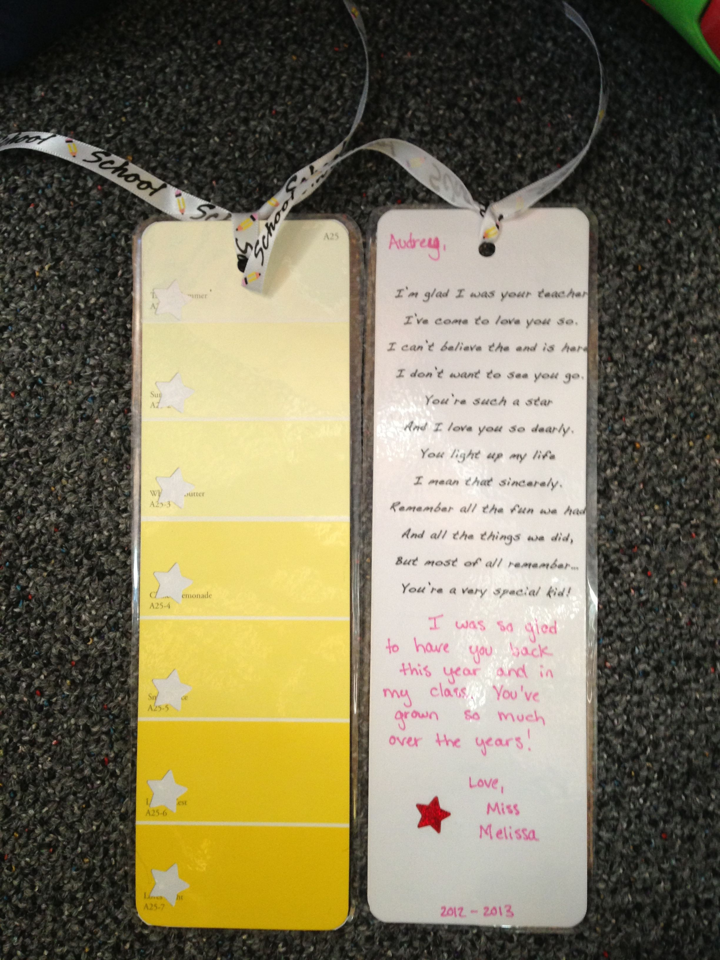 Cute Bookmarks For Graduation End Of The Year Easy To