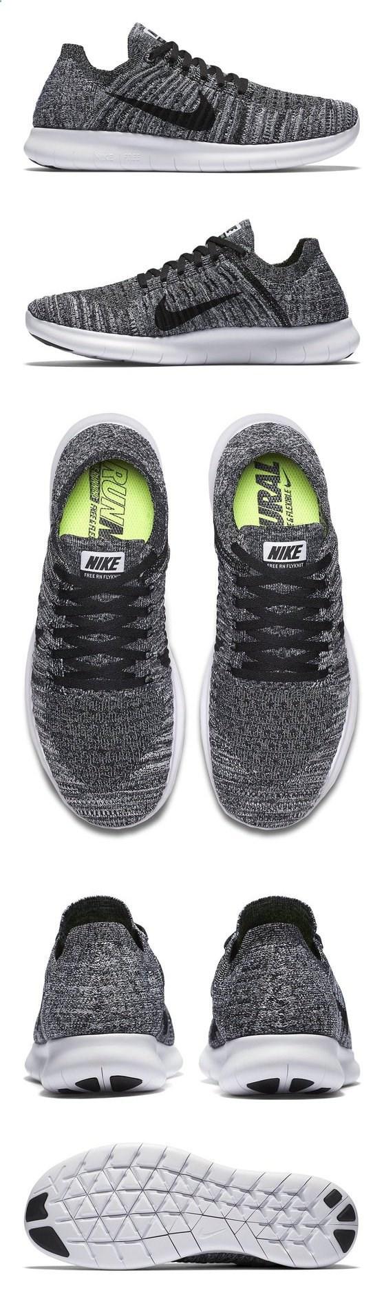 $130 - Nike Women's Free Rn Flyknit Running Shoe White/Black 9 B(M) US #shoes #nike #2016 Clothing, Shoes & Jewelry : Women : Shoes amzn.to/2k0ZSzK