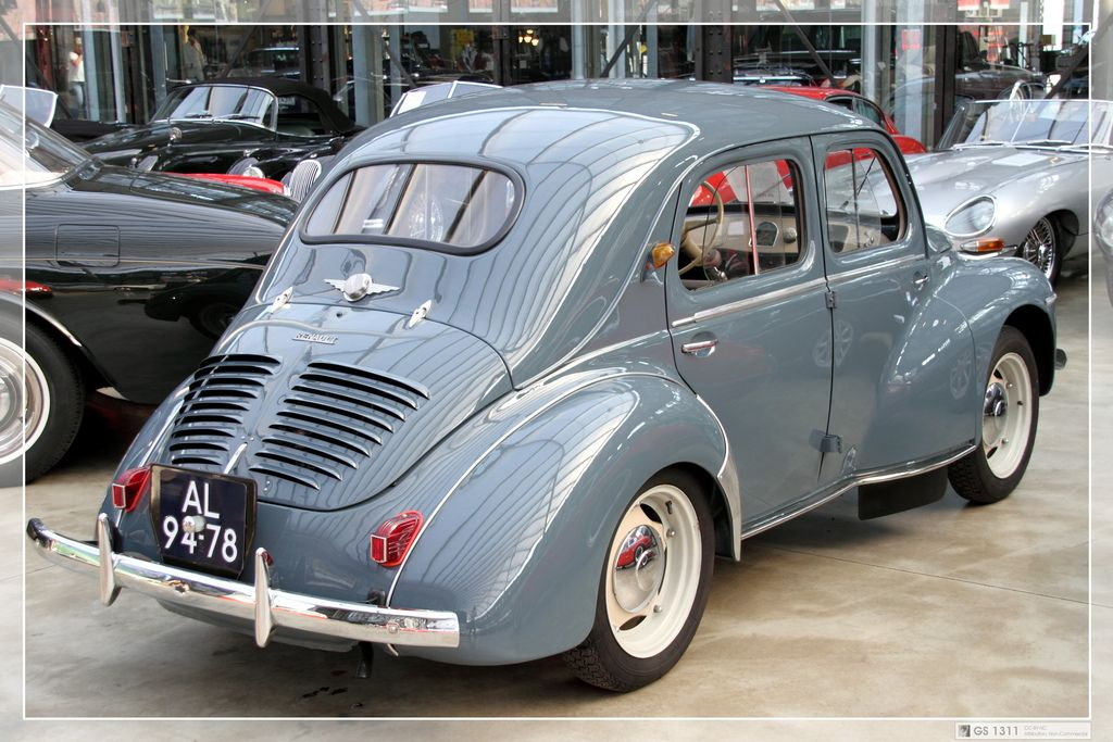 1946 Renault 4cv Renault Matra Economy Cars