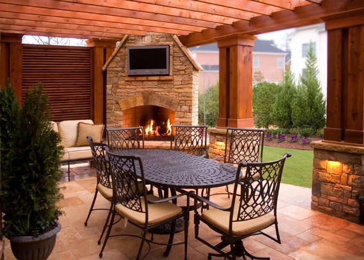 Outdoor Living Space Projects to Try Pinterest Outdoor