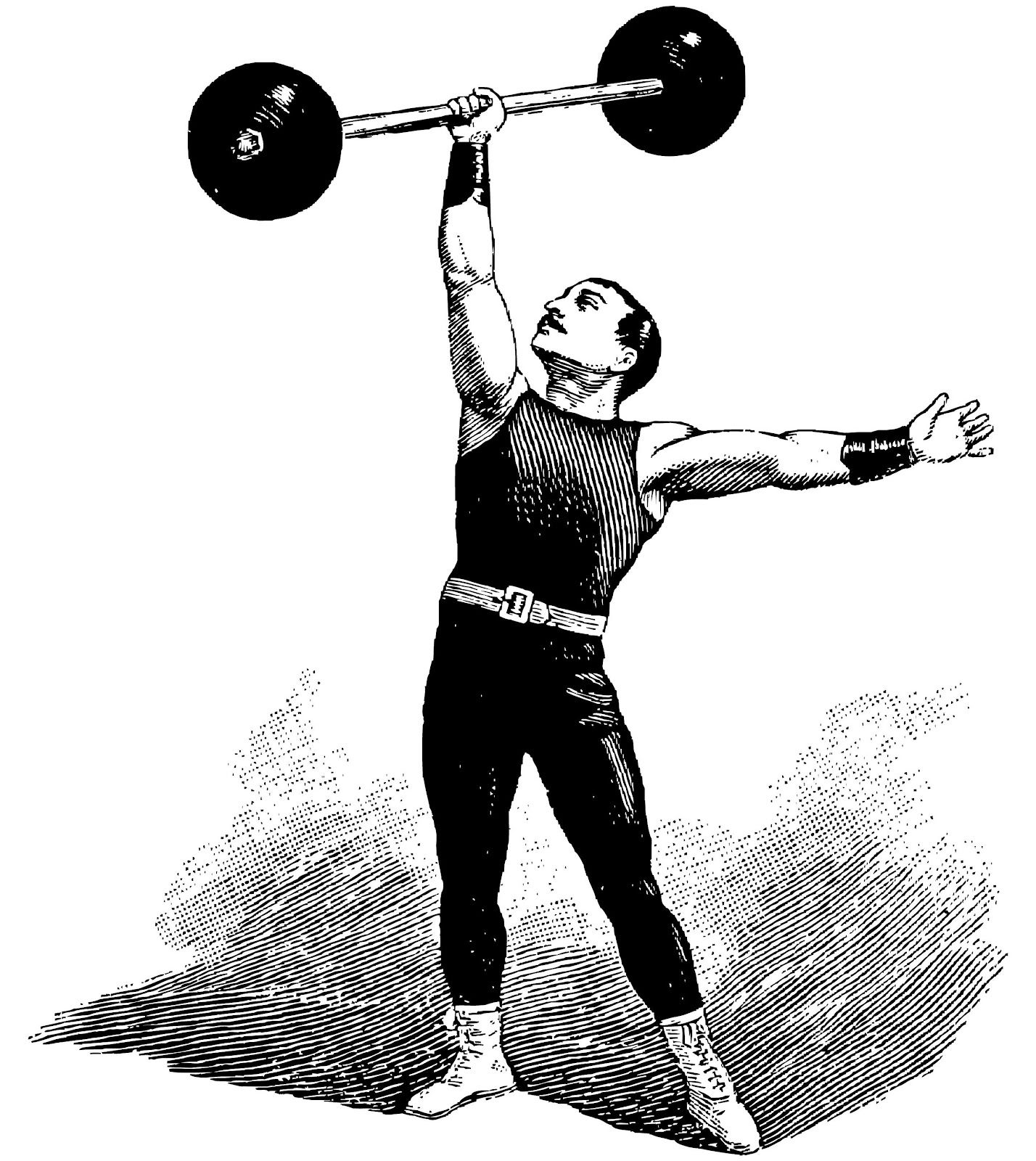 Images For > Old Time Strongman | inspiracje do scrapów ...