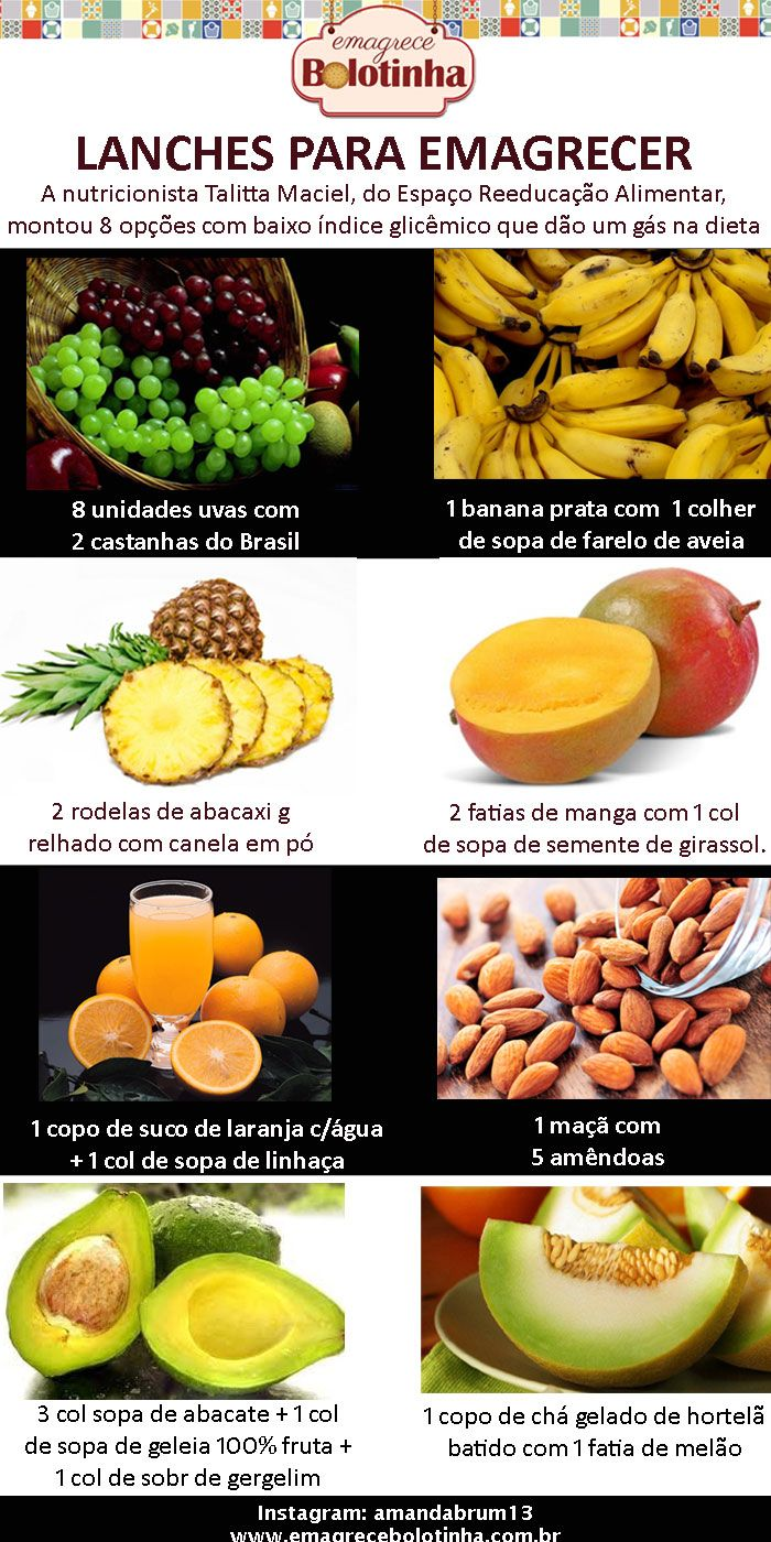 Frutas para dieta fitness