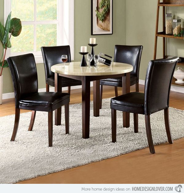 Small Round Dining Tables For Big Style Statement Small Dining Room Table Round Dining Room Table Round Dining Room