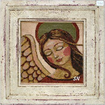 Angelic Vision XS3162 Angel Teresa Kogut Counted Cross Stitch Chart Pattern