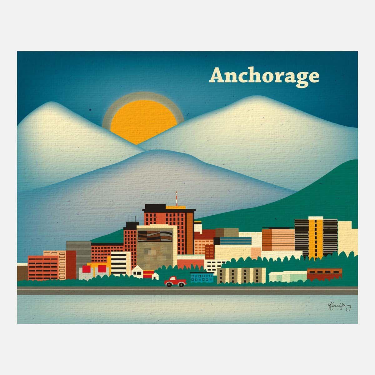 Fab anchorage print alaska pinterest alaska travel