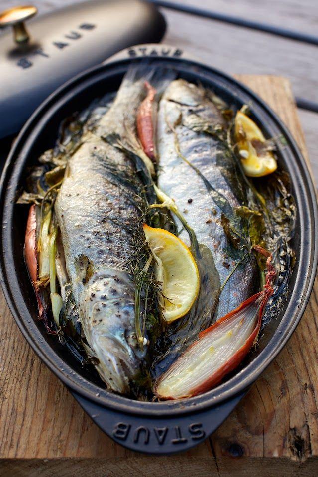 ziii kocht - Fisch im Kräuterbeet