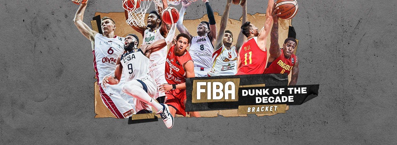 FIBA launches Dunk of the Decade bracket NCAA Basketball