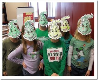 Grinch Printable Mask Grinch Mask Template Grinch Mask