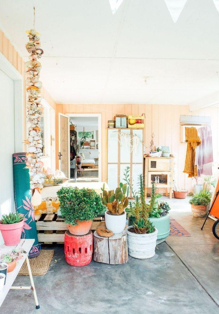 Boho Patio :: Backyard Gardens :: Courtyard + Terraces :: Outdoor Living  Space