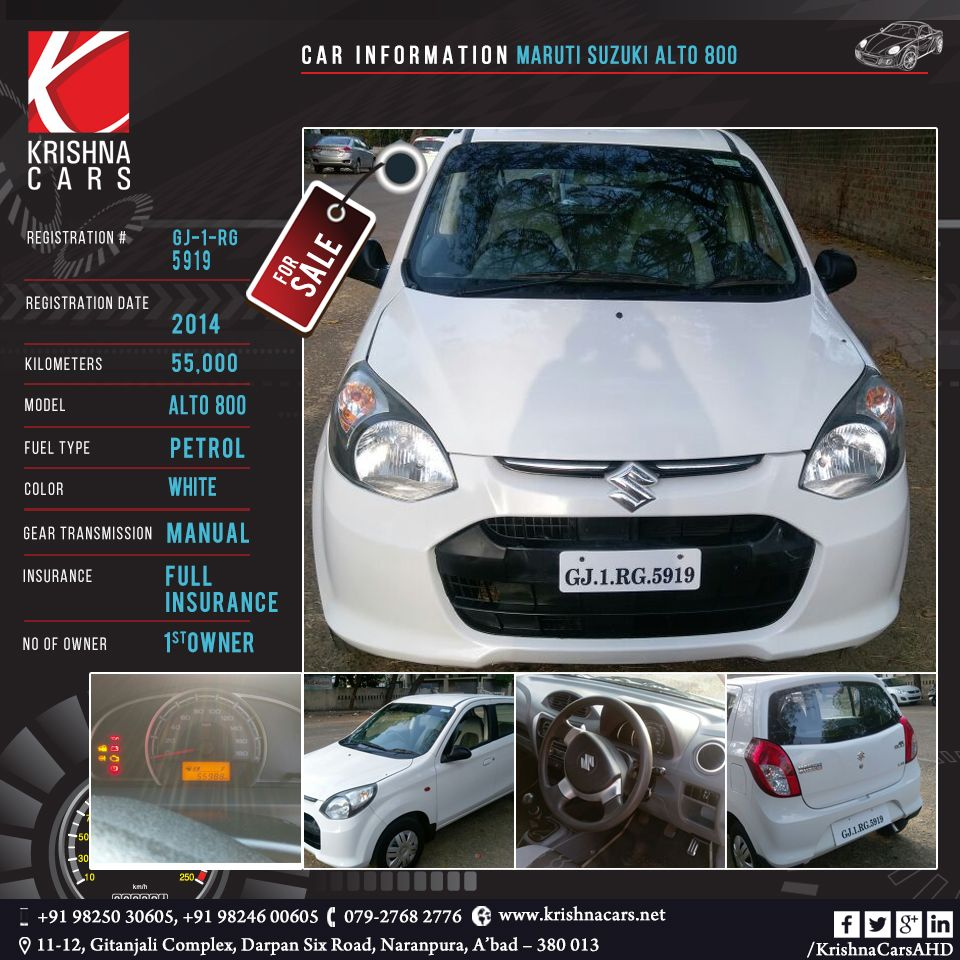 Pin by 121 E SOLUTIONS on Krishna Cars | Maruti suzuki alto
