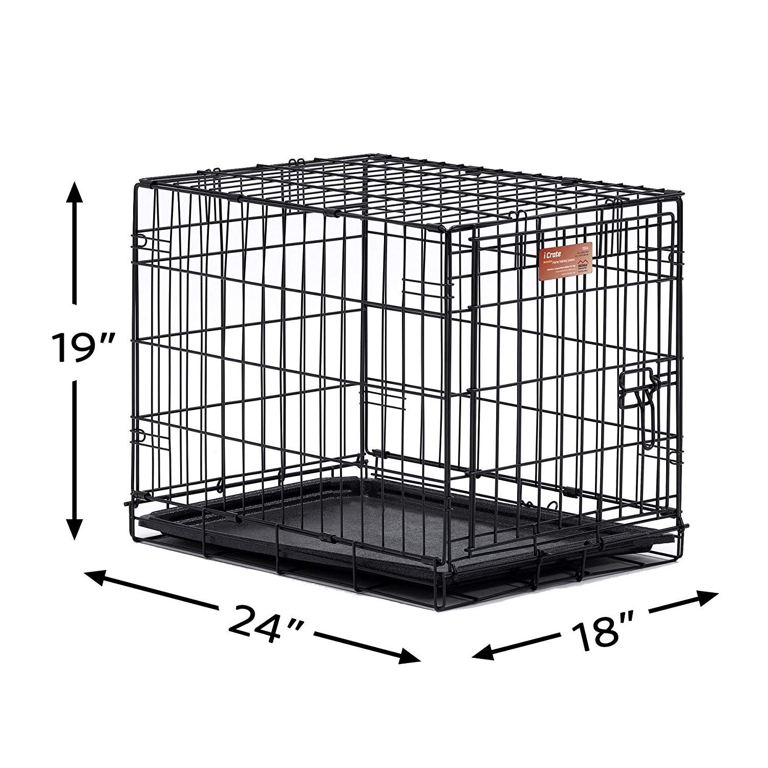 Midwest Homes For Pets Dog Crate Icrate Single Door Double
