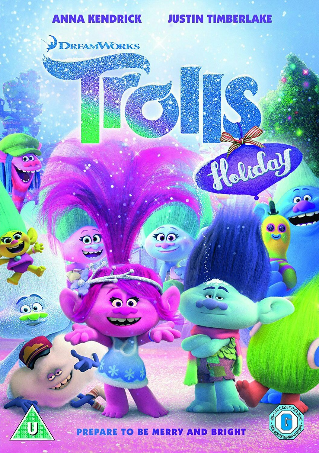 Trolls Holiday mini movie poster Animated christmas