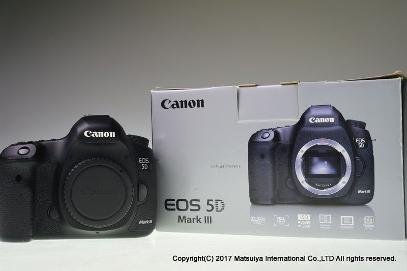 Canon Eos 5d Mark Iii Body 22 3 Mp Digital Camera Excellent Canon
