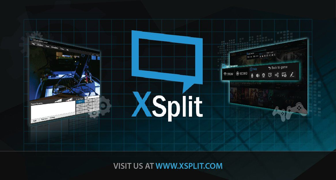 live streaming & recording software - xsplit | broadcasting, Presentation templates