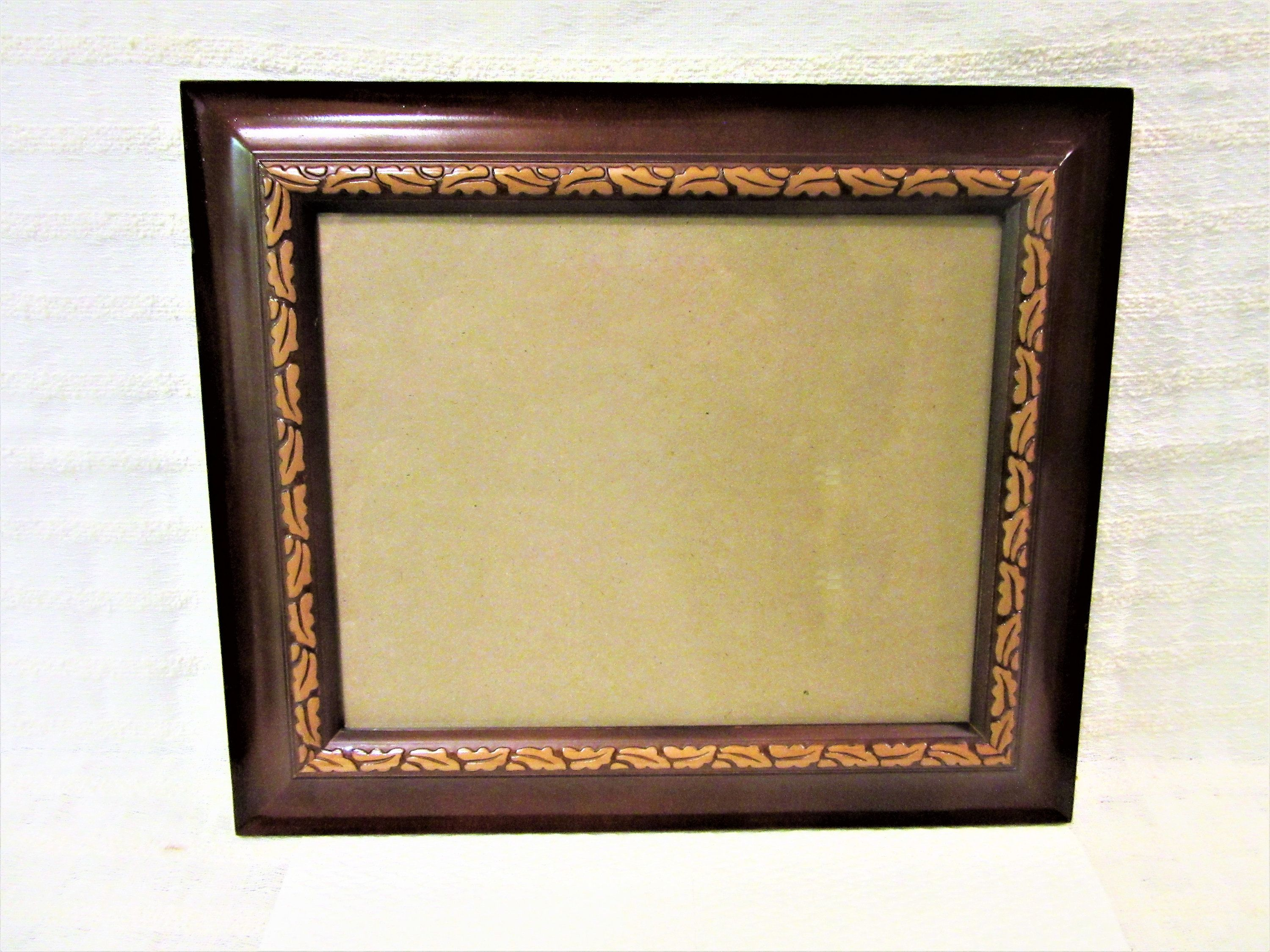 Wood Photo Frame 8 x 10 Carved Ornate Design Wall Decor Hanging ...