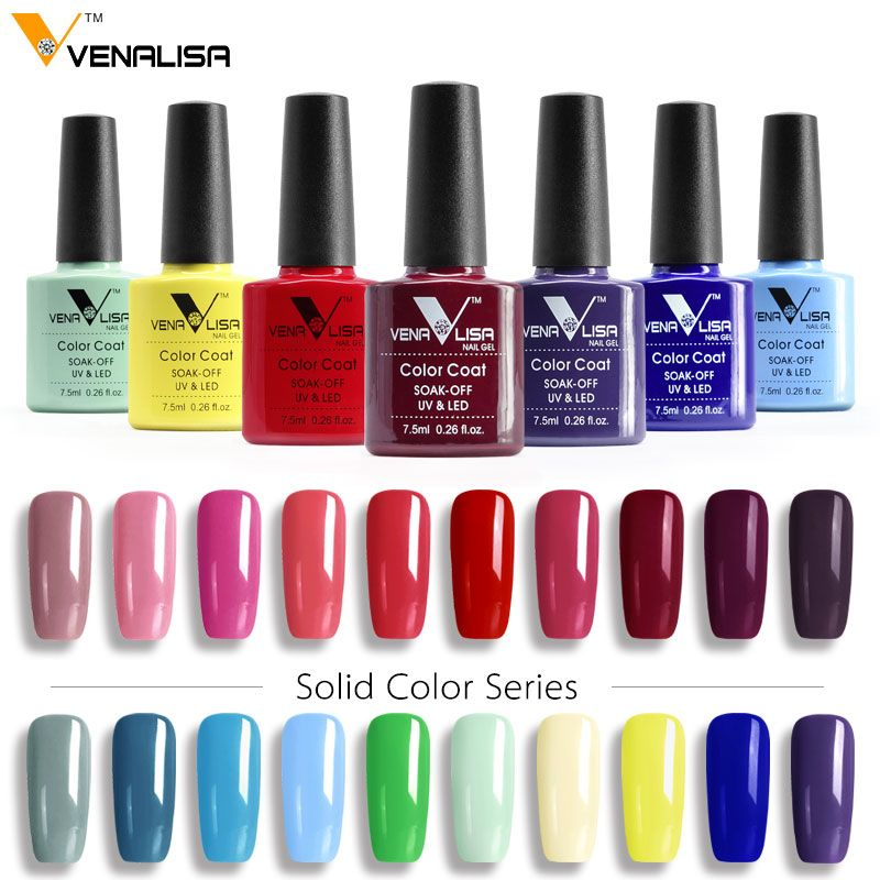 7 00 Usd Free Shipping Canni Gel Varnish Lacquer Nail Art Diy 60 Colors Venalisa Soak Off Organic Odorless Ename Nail Art Diy Uv Gel Nail Polish Nail Polish