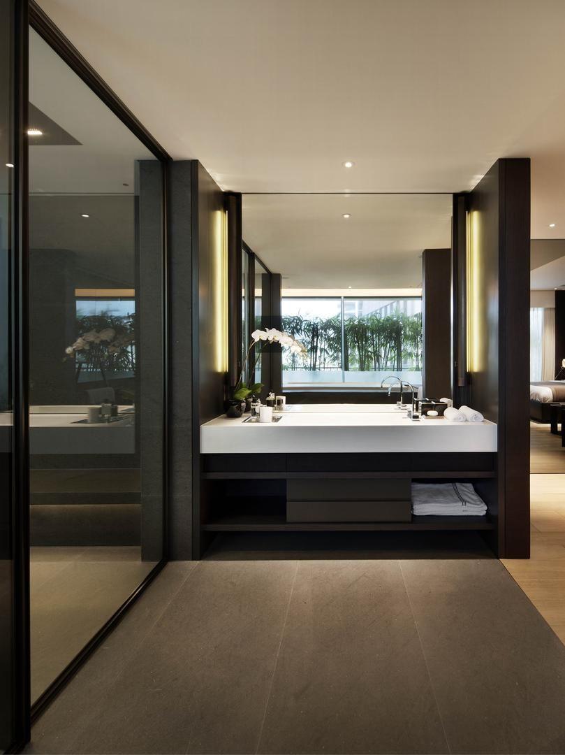Scotts High Park Singapore Interiors Modern Hotel Room Bathroom Interior Simple Bathroom