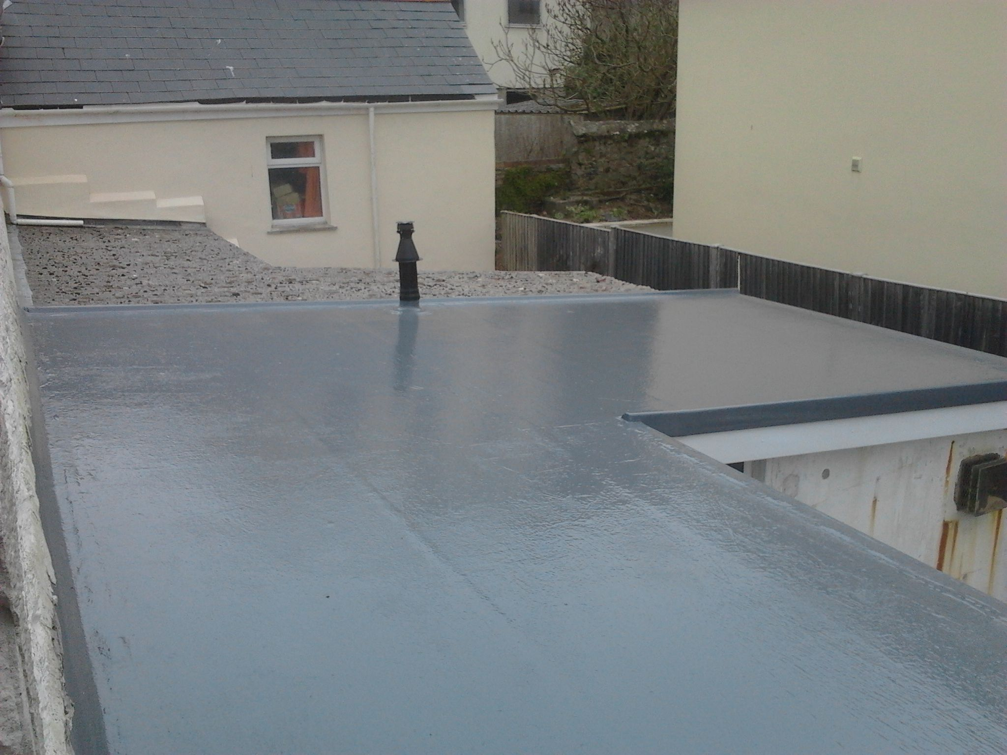 Fibreglass Roofing In Cornwall Pellow Flat Roofing Ltd Fibreglass Roof Roofing Glass Roof