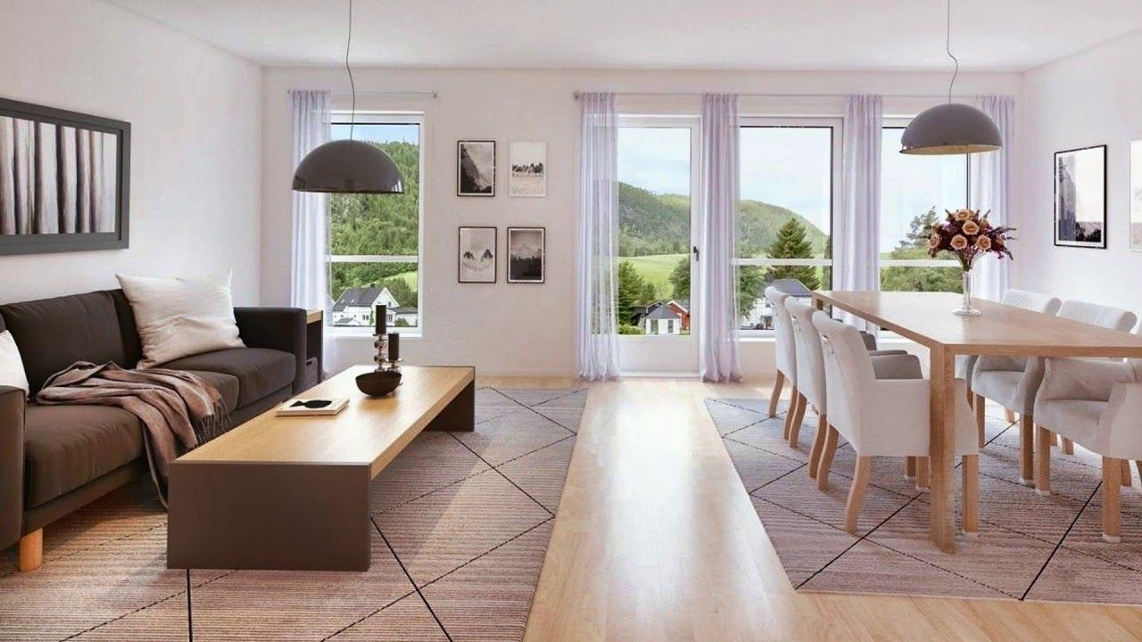 Open Plan Living Dining Room and Open Concept - Living ...