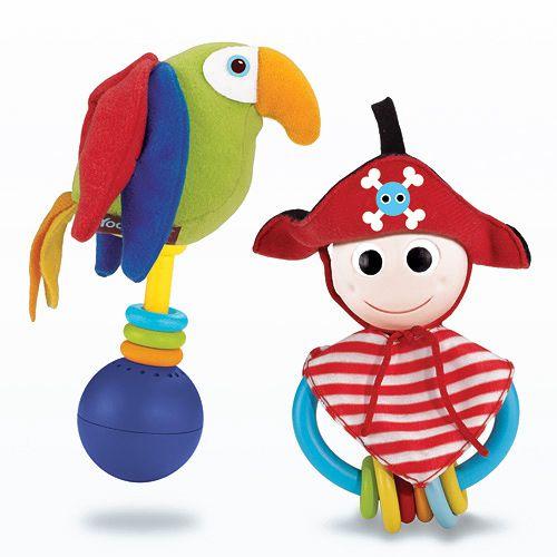 2 Sonajeros Pirata Loro Imaginarium Pa Ja Baby Rattle